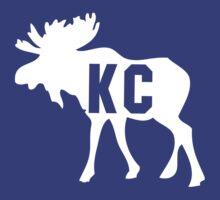 KC Moose Shirt by 785Tees