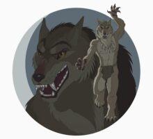 Were Pride  - Tan Wolf T-Shirt