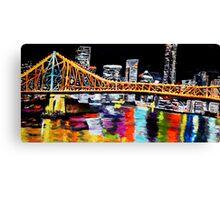 Storey Bridge Brisbane  Canvas Print