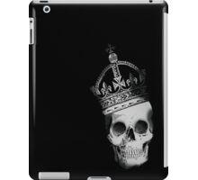 Skull In Crown iPad Case/Skin