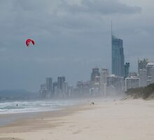 Surfers Paradise 3 by Werner Padarin