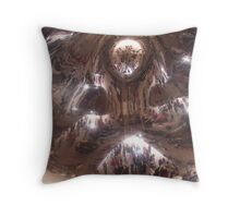 Inside the Kapoor Throw Pillow