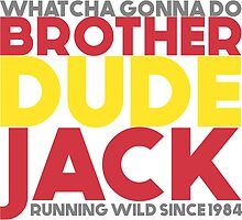 """Brother Dude Jack - """"Puzzle Pieces"""" [Series I - Design I] by anthonyjumelles"""