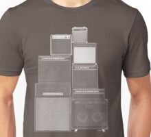 the great wall of LOUD : white ink edition Unisex T-Shirt