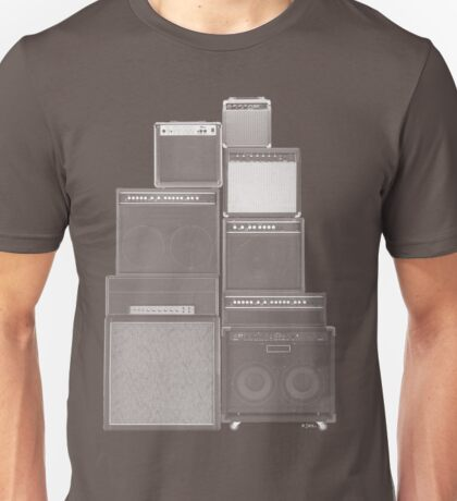 the great wall of LOUD : white ink edition T-Shirt