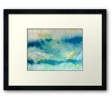 Whispers of Blue Framed Print