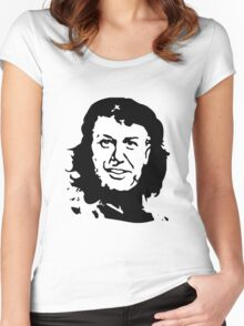 Sir David 'Ché' Attenborough Women's Fitted Scoop T-Shirt