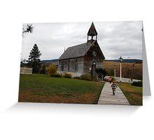 Pioneer Village near Kamloops, British Colmbia Greeting Card
