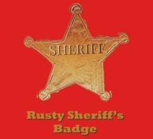 Rusty Sheriff's Badge by benjy