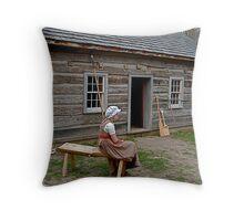 Westfield Historic Village, near Brantford, Ontario Throw Pillow