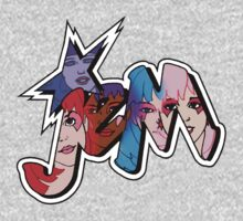 Jem and the Holograms - Logo - Group Color One Piece - Long Sleeve