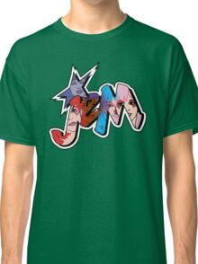 Jem and the Holograms - Logo - Group Color Classic T-Shirt