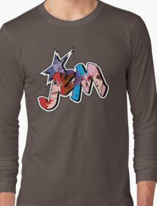 Jem and the Holograms - Logo - Group Color Long Sleeve T-Shirt