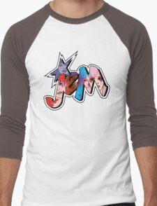 Jem and the Holograms - Logo - Group Color Men's Baseball ¾ T-Shirt