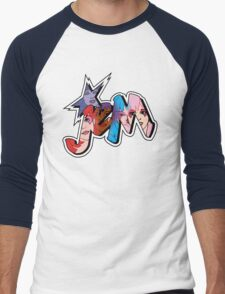 Jem and the Holograms - Logo - Group Color Men's Baseball ¾ T-Shirt