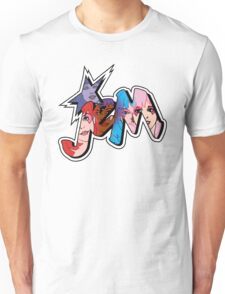 Jem and the Holograms - Logo - Group Color Unisex T-Shirt