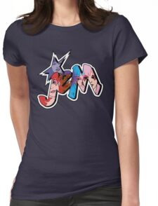Jem and the Holograms - Logo - Group Color Womens Fitted T-Shirt