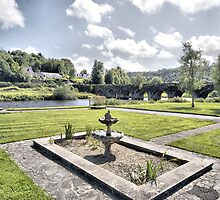 Inistioge Riverside by waynetbrown