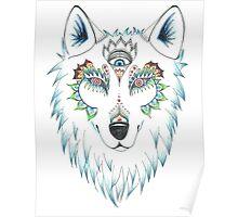 Wolf Design Poster