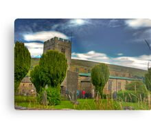 Dent Church - Dentdale. Metal Print