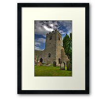 Dent Church Tower - Dent Framed Print