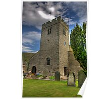 Dent Church Tower - Dent Poster