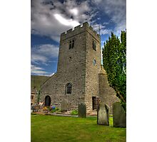 Dent Church Tower - Dent Photographic Print
