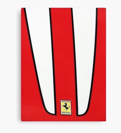 Ferrari Canvas Print