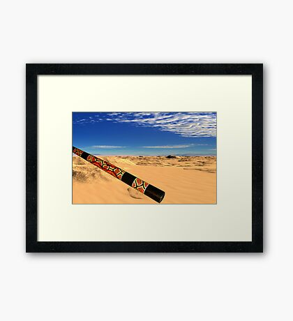 Dreamtime Framed Print