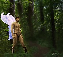 Fantasy Fairy in the Woods 2 by Christopher Johnson