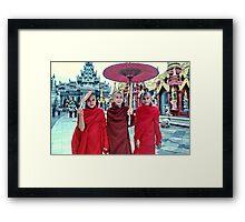Shwedagon Pagoda, Rangoon, Burma Framed Print