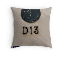 Numbers and Shadows Throw Pillow