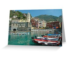 Cinque Terre  - Vernazza, Italy Greeting Card
