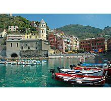 Cinque Terre  - Vernazza, Italy Photographic Print