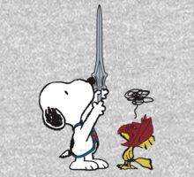 He-Dog and Battle Bird Baby Tee