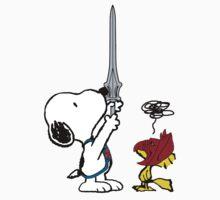 He-Dog and Battle Bird Kids Tee