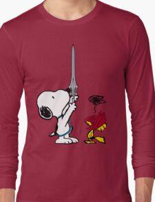 He-Dog and Battle Bird Long Sleeve T-Shirt