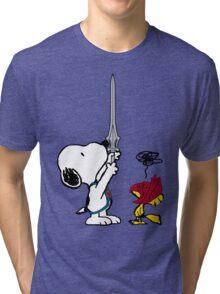 He-Dog and Battle Bird Tri-blend T-Shirt