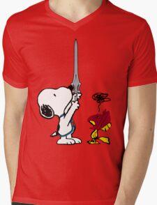 He-Dog and Battle Bird Mens V-Neck T-Shirt