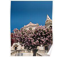Summertime colors in Taormina Poster