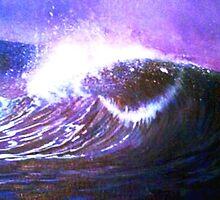 Purple wave by Alan Minshull