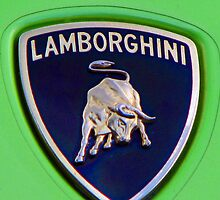 Lamborghini badge by Pete Simmonds