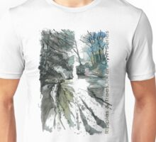 Ripples & Trees 1a Unisex T-Shirt