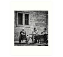 The Boys of France Art Print