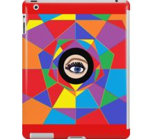 From Inside a Kaleidoscope, Looking Out iPad Case/Skin