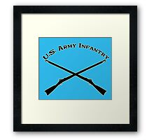 U.S. Army Infantry Framed Print