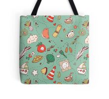 Adventure pattern Tote Bag