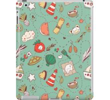 Adventure pattern iPad Case/Skin