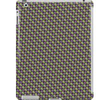 Tessellating Squid - Lime and Purple iPad Case/Skin