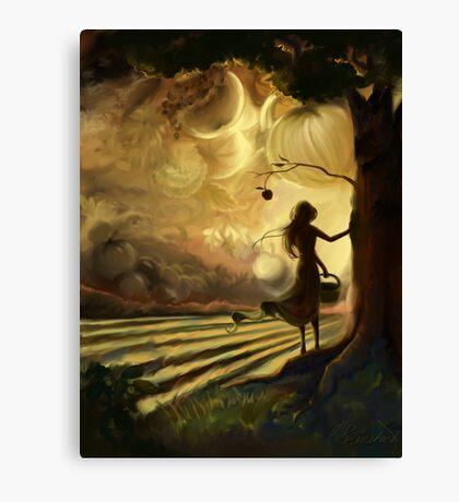 Impending Harvest Canvas Print